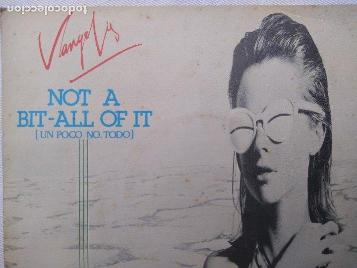 VANGELIS.NOT AT BIT ALL OF IT.RARO SINGLE (Música - Discos - Singles Vinilo - Electrónica, Avantgarde y Experimental)
