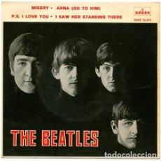 Discos de vinilo: OFERTA SINGLE THE BEATLES - MISERY - SPAIN. Lote 182568366