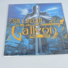 Discos de vinilo: GALLEON - SO, I BEGIN 12''. Lote 182572051