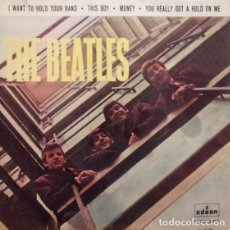 Discos de vinilo: SINGLE THE BEATLES – I WANT TO HOLD YOUR HAND - SPAIN. Lote 182572207