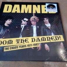 Discos de vinilo: DAMNED - DOOM THE DAMNED! THE CHAOS YEARS 1977 - 1982. LP VINILO PRECINTADO. Lote 182581932
