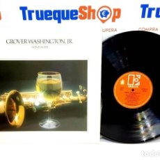 Discos de vinilo: LP GROVER WASHINGTON WINE LIGHT. Lote 182587623