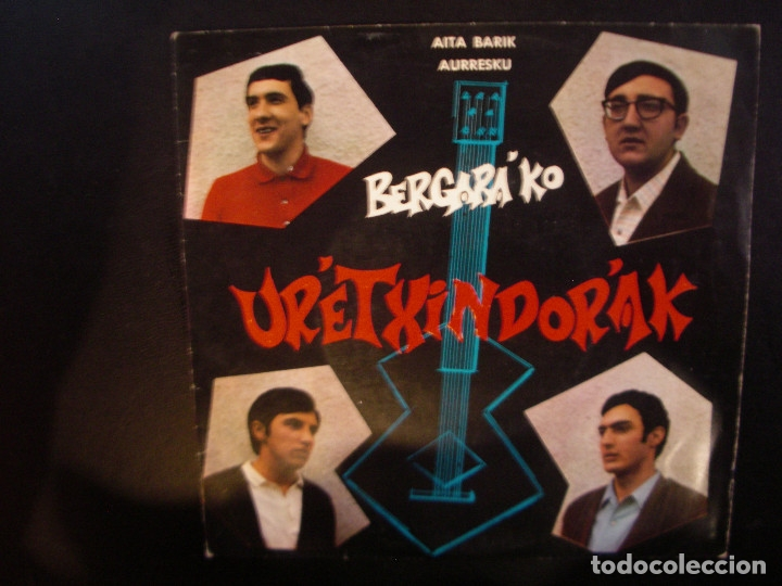 URETXINDORAK- SINGLE. (Música - Discos - Singles Vinilo - Country y Folk)