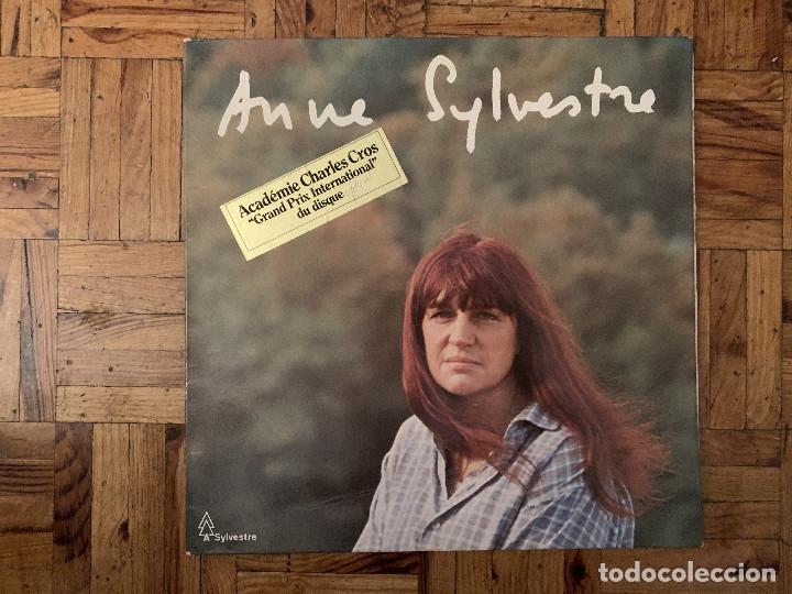 ANNE SYLVESTRE ?– ANNE SYLVESTRE SELLO: A SYLVESTRE ?– 133 005 FORMATO: VINYL, LP, GAT PAÍS: FRANCE (Música - Discos - LP Vinilo - Canción Francesa e Italiana)