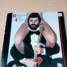Discos de vinilo: RINGO STARR - LP THE 4TH - - BUEN ESTADO -LEER - VER FOTOS. Lote 182610560