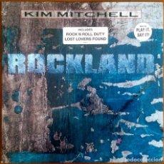 Discos de vinilo: KIM MITCHELL - ROCKLAND. Lote 182611301