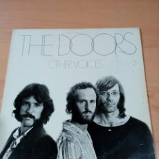 Discos de vinilo: THE DOORS - LP OTHERS VOICES - BUEN ESTADO - LEER - INCLUYE ENCARTES - VER FOTOS. Lote 182611830