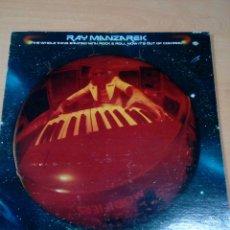 Discos de vinilo: RAY MANZAREK- LP THE WHOLE THING STARTED WITH ROCK AND ROLL - BUEN ESTADO - - VER FOTOS. Lote 182612633