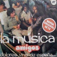 Discos de vinilo: SENCILLO ARGENTINO DE AMIGOS AÑO 1973. Lote 115256283