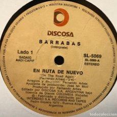 Discos de vinilo: SENCILLO ARGENTINO DE BARRABAS AÑO 1981. Lote 122150287