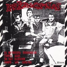 Discos de vinilo: LOS KING CRUELES ‎– EL MOTORISTA DESCONOCIDO SINGLE ROCKABILLY ROCKIN PAULY. Lote 182614230