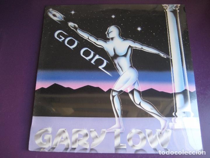 GARY LOW LP HISPAVOX 1983 PRECINTADO - GO ON - ITALODISCO - ITALIA DISCO SYNTH 80'S (Música - Discos - LP Vinilo - Disco y Dance)