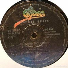 Discos de vinilo: SENCILLO ARGENTINO DE FRANKIE SMITH AÑO 1980. Lote 122148999