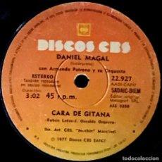 Discos de vinilo: SENCILLO ARGENTINO DE DANIEL MAGAL AÑO 1977. Lote 167480552