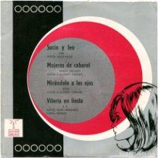 Discos de vinilo: ORQUESTA RAFAEL TALENS ?– SUCIO Y FEO - EP SPAIN 1967 - DISCOS ONDINA ?EAG-20.043. Lote 182625521