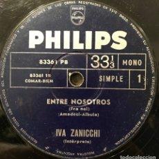 Discos de vinilo: SENCILLO ARGENTINO DE IVA ZANICCHI AÑO 1966. Lote 112571607