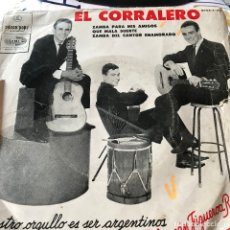 Discos de vinilo: EP ARGENTINO DE HERNÁN FIGUEROA REYES AÑO 1967. Lote 112573247