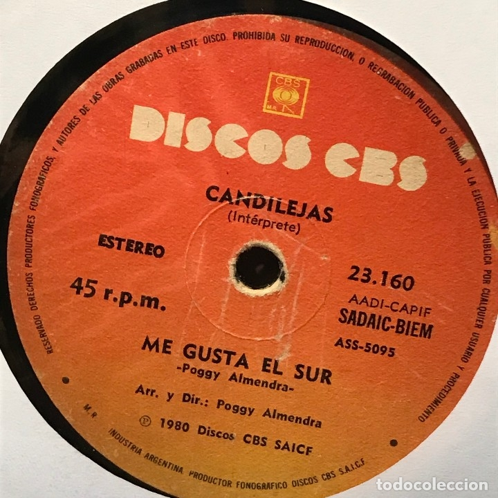 Discos de vinilo: Sencillo argentino de Laurita / Candilejas año 1980 - Foto 2 - 122146619