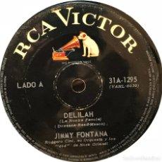 Discos de vinilo: SENCILLO ARGENTINO DE JIMMY FONTANA AÑO 1968 CANTADO EN CASTELLANO. Lote 122152703