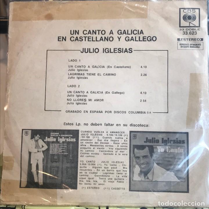 Discos de vinilo: EP argentino de Julio Iglesias año 1972 reedición - Foto 2 - 147526094