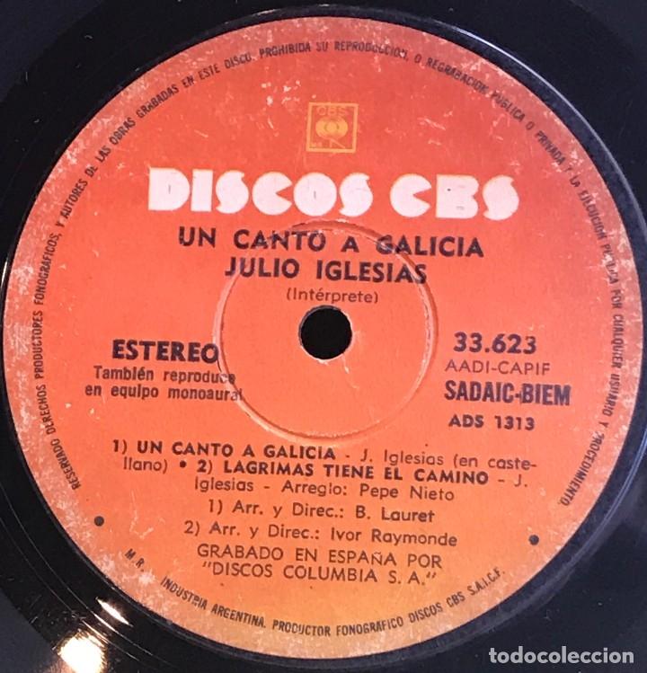 Discos de vinilo: EP argentino de Julio Iglesias año 1972 reedición - Foto 3 - 147526094