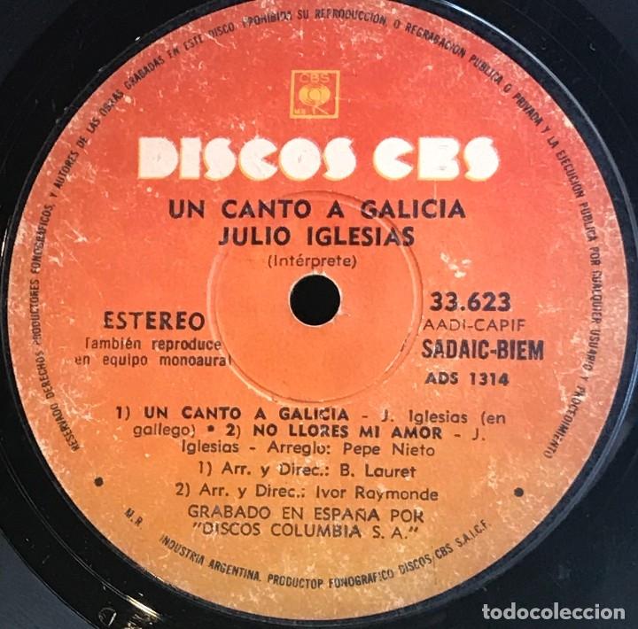 Discos de vinilo: EP argentino de Julio Iglesias año 1972 reedición - Foto 4 - 147526094