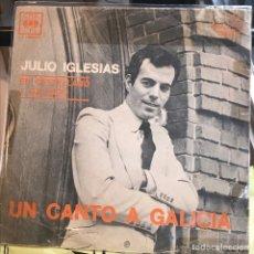 Discos de vinilo: EP ARGENTINO DE JULIO IGLESIAS AÑO 1972 REEDICIÓN. Lote 147526094