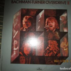 Discos de vinilo: BACHMAN TURNER OVERDRIVE II LP - ORIGINAL U.S.A. - MERCURY 1973 CON FUNDA INT. GEN. MERCURY -. Lote 182630271