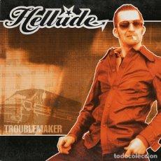 Discos de vinilo: HELLRIDE TROUBLEMAKER (10 PULGADAS) . PUNK ROCK AND ROLL GLUECIFER TURBONEGRO HELLACOPTERS. Lote 182632750