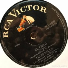 Discos de vinilo: SENCILLO ARGENTINO DE LUCIO DALLA CANTADO EN ESPAÑOL AÑO 1968. Lote 122152803
