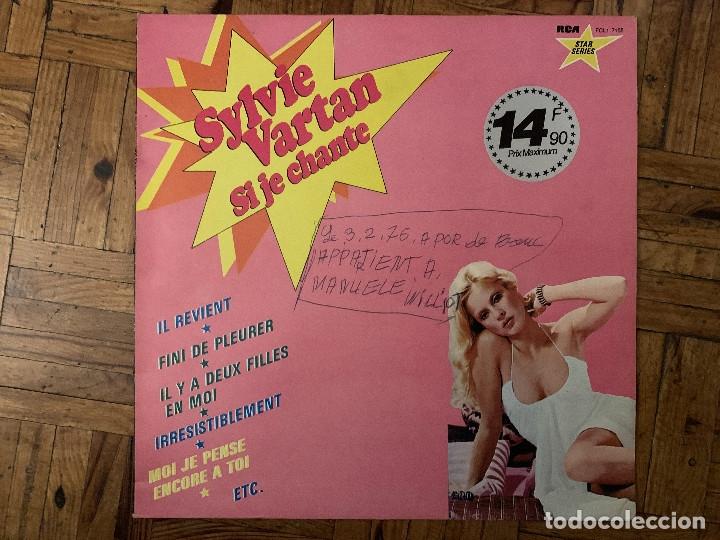 SYLVIE VARTAN ?– SI JE CHANTE SELLO: RCA STAR SERIES ?– FCL1 7155 FORMATO: VINYL, LP, COMPILATION (Música - Discos - LP Vinilo - Canción Francesa e Italiana)