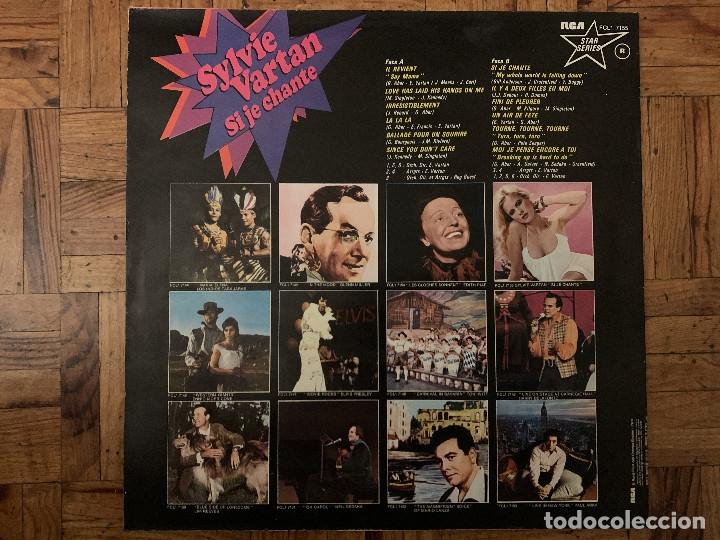Discos de vinilo: Sylvie Vartan ?– Si Je Chante Sello: RCA Star Series ?– FCL1 7155 Formato: Vinyl, LP, Compilation - Foto 2 - 182636777