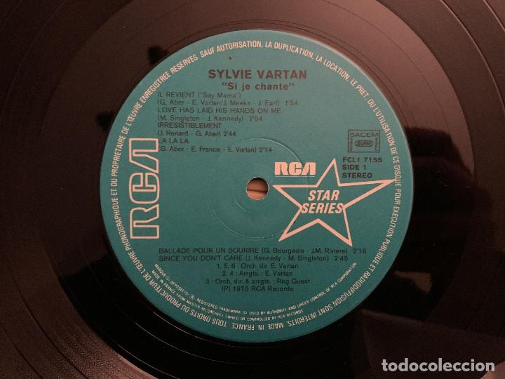 Discos de vinilo: Sylvie Vartan ?– Si Je Chante Sello: RCA Star Series ?– FCL1 7155 Formato: Vinyl, LP, Compilation - Foto 3 - 182636777