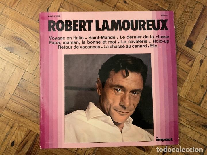 ROBERT LAMOUREUX ?– ROBERT LAMOUREUX SELLO: IMPACT (2) ?– 6371 127 FORMATO: VINYL, LP, COMPILATION (Música - Discos - LP Vinilo - Canción Francesa e Italiana)
