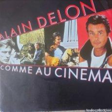 Discos de vinilo: ALAIN DELON SINGLE SELLO TELDEC EDITADO EN ALEMANIA AÑO 1987. Lote 182637123
