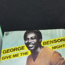 Discos de vinilo: GEORGE BENSON 'GIVE ME THE NIGHT' 1980. Lote 182637183