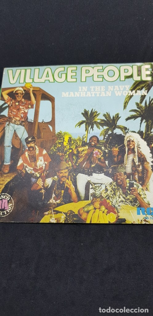 VILLAGE PEOPLE 'IN THE NAVY' 1979 (Música - Discos de Vinilo - Maxi Singles - Disco y Dance)