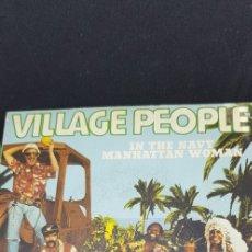 Discos de vinilo: VILLAGE PEOPLE 'IN THE NAVY' 1979. Lote 182637327