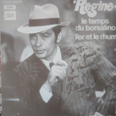 Discos de vinilo: RÉGIMEN CANTA EL TEMA DE LA PELÍCULA BORSALINO DE ALAIN DELON SINGLE SELLO EMI EDITADO EN FRANCIA.. Lote 182637415