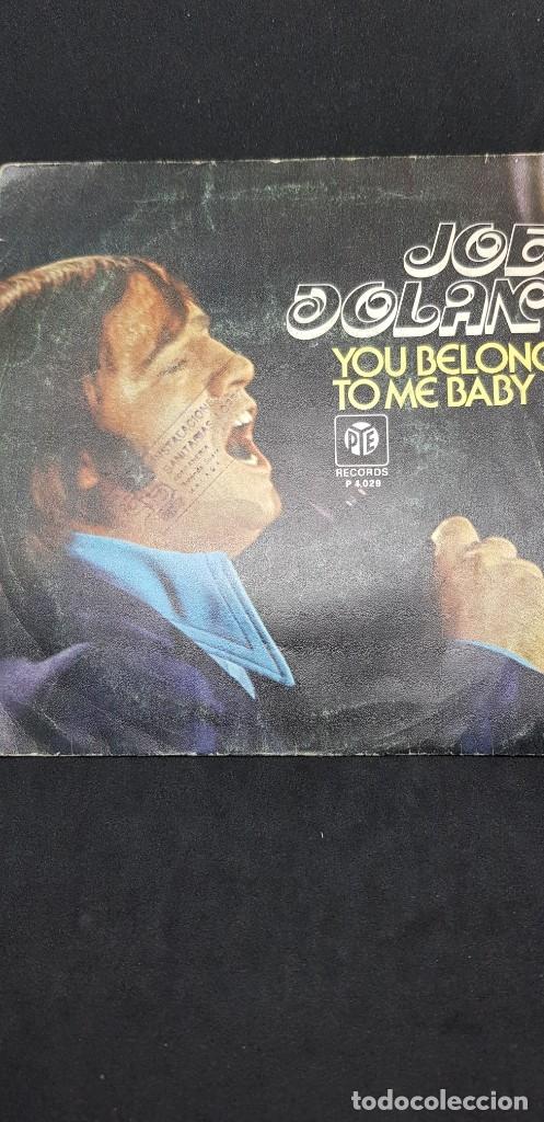 JOE DOLAN 'YOU BELONG TO ME BABY' 1976 (Música - Discos de Vinilo - Maxi Singles - Cantautores Extranjeros)