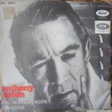 Discos de vinilo: ANTHONY QUINN SINGLE SELLO EMI-CAPITOL EDITADO EN ESPAÑA AÑO 1968. Lote 182638363