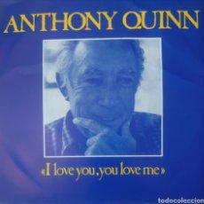Discos de vinilo: ANTHONY QUINN SINGLE SELLO CAPITOL EDITADO EN HOLANDA AÑO 1967. Lote 182638575