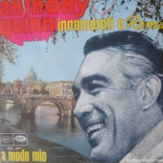 Discos de vinilo: ANTHONY QUINN SINGLE SELLO EMI-CAPITOL EDITADO EN ITALIA AÑO 1968. Lote 182638737