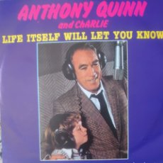 Discos de vinilo: ANTHONY QUINN AND CHARLIE SINGLE SELLO ERA AÑO 1981 EDITADO EN ITALIA.. Lote 182639042