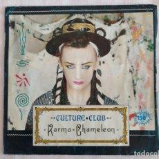 Discos de vinilo: CULTURE CLUB – KARMA CHAMELEON. Lote 182639572