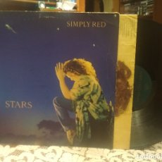 Discos de vinilo: SIMPLY RED STARS LP UK 1991 PDELUXE. Lote 182640545