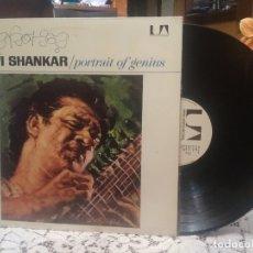 Discos de vinilo: RAVI SHANKAR PORTRAIT OF GENIUS LP SPAIN 1975 PDELUXE. Lote 182641920