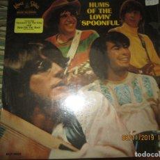 Discos de vinilo: LOVIN SPOONFUL - HUMS OF THE LOVIN SPOONFUL LP - ORIGINAL U.S.A. - KAMA SUTRA RECORDS 1966 - MONO -. Lote 182643442