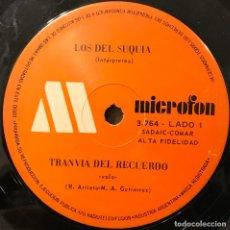Discos de vinilo: SENCILLO ARGENTINO DE LOS DEL SUQUÍA AÑO 1972. Lote 112568579