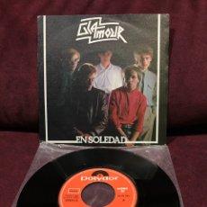 """Discos de vinilo: GLAMOUR - EN SOLEDAD, SINGLE 7"""", 1982, ESPAÑA. Lote 182644072"""